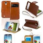 Samsung Galaxy S4 Leather Flip Case