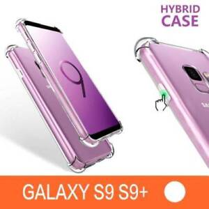 Samsung S9 / S9  Plus Shock Proof Cover Clear Hybrid Case
