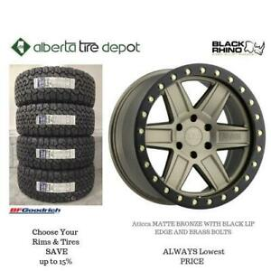 OPEN 7 DAYS LOWEST PRICE Save Up To 10% Black Rhino Attica Matte Bronze Black Lip Edge Brass Bolts. Alberta Tire DEPOT