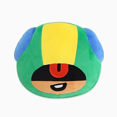 Brawl Stars Leon Face Soft Cushion Pillow Game Character