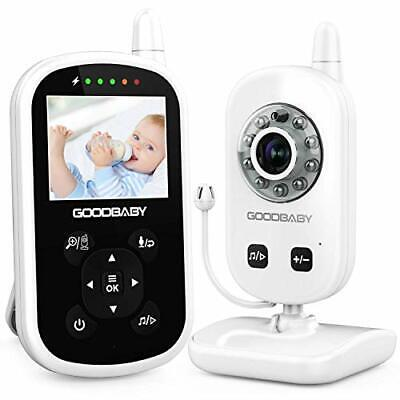 Video Baby Monitor with Camera and Audio - Auto Night Vision,Two-Way Talk,