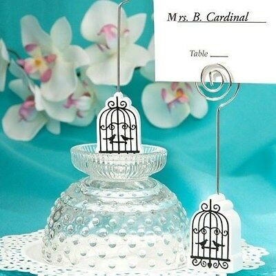 75 Love Birdcage Place Card Holder Wedding Shower Table Party Favors
