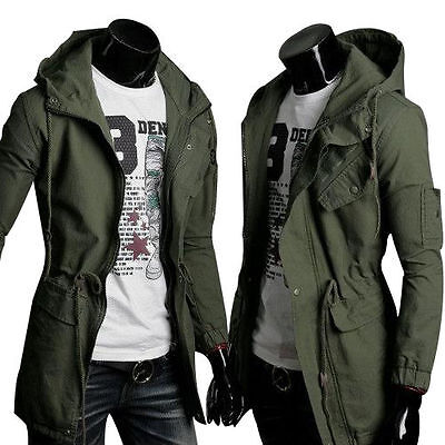 Parka style trench