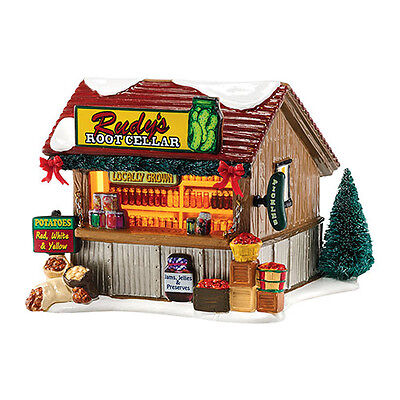 Department 56 Snow Village 2015 RUDY'S ROOT CELLAR CANNED GOODS 4044859 Dept 56