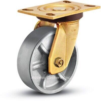 5os1-2 Bassick Honcho Swivel Plate Caster 5 X 2 Steel Wheel 1750 Lb Capacity