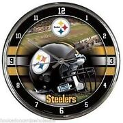 Steelers Clock