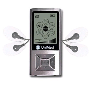 UniMed TENS device with Massager shoes, less than half price
