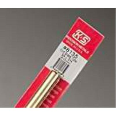 K S Precision Metals 8135 38 X 12 Round Brass Tube