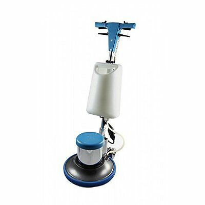Floor Machine Brushes - Industrial Floor Polisher Machine with (1 Tank + 2 Brushes +1 Pad Holder)
