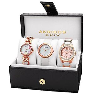 Gorgeous AKRIBOS XXIV Women's Watch Gift Set!
