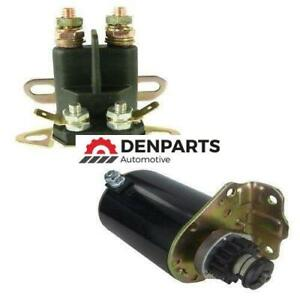 STARTER SOLENOID KIT JOHN DEERE 100 108  MOWERS AM122337 AM37352