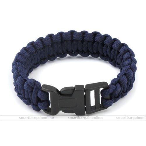 navy paracord bracelet ebay