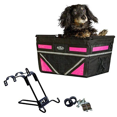 2020 Original Pet-Pilot Dog Bike Basket Carrier ...