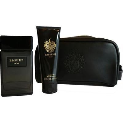 Empire By Donald Trump 3.4 Oz EDT Spray 3 Piece Gift Set Cologne For Men