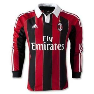 6942645ca AC Milan Jersey Long Sleeve