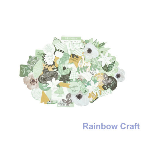 2016-2019 Kaisercraft Die Cuts Scrapbooking collectables 62 option Embellishment - Mint Wishes