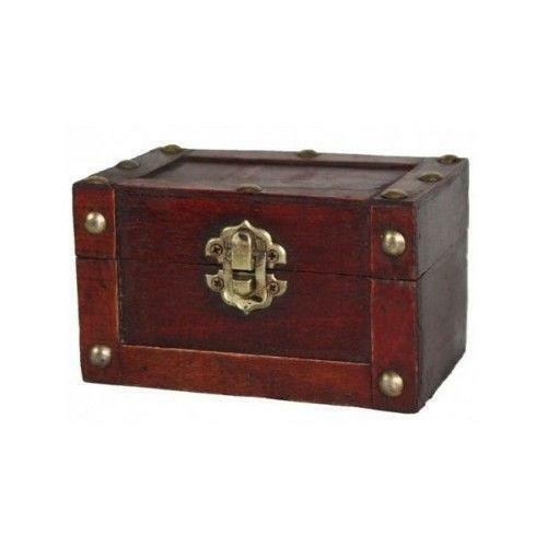 Wood Pirate Chest ~ Wood pirate chest ebay