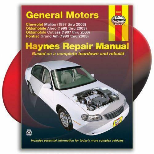 pontiac grand am 2003 owners manual