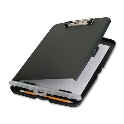 Officemate Slim Clipboard Storage Box, Charcoal