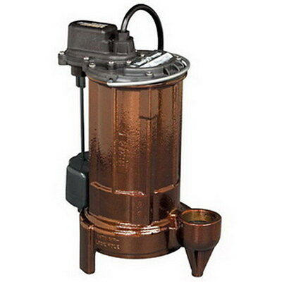 Liberty Pumps 280-series Submersible Effluentsump Pump 287-vmf 12 Hp