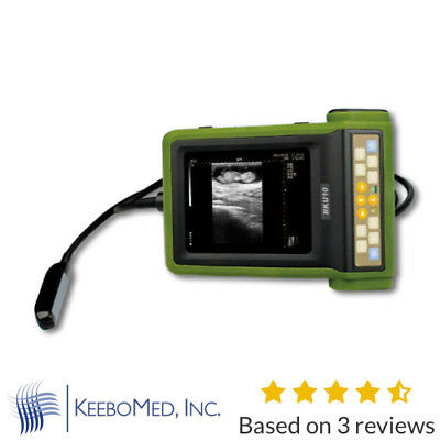 Keebomed Rku-10 Veterinary Ultrasound Machine W Rectal Probe For Large Animals