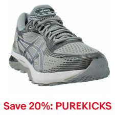 ASICS GEL-Nimbus 21  Casual Running  Shoes - Silver - Mens