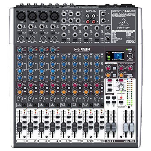 Behringer X1622USB XENYX 16-Channel Live Sound Mixer Board FREE 2DAY