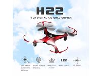 JJRC H22 3D RC Quadcopter - RED The Spinning Inverted Drone