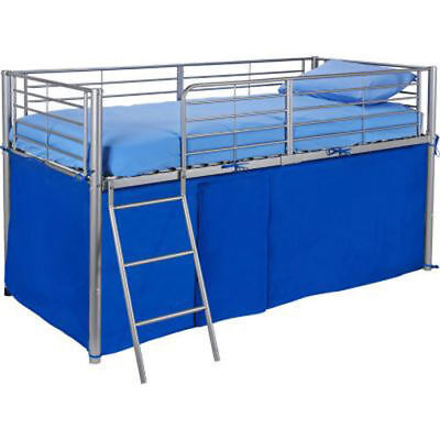 Blue Tent For Mid Sleeper Bed Boys Bedroom Toys Games Storage - New