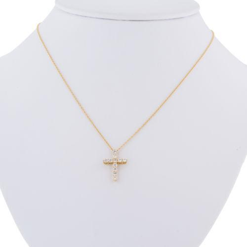 jewelers in diamonds product cross gold necklace diamond chains white with lily