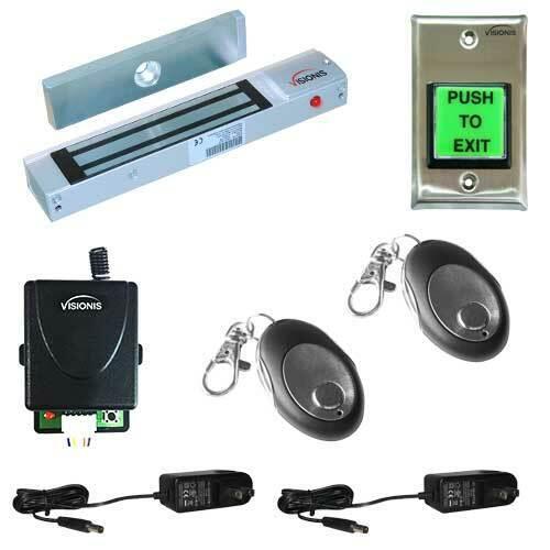 FPC-5006 One door Access Control outswinging door 300lb Electromagnetic lock kit