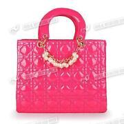 Pink Patent Bag