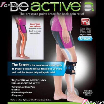 As Seen On Tv Be Active Beactive Acupressure Point Sciatic Nerve Leg Brace Back