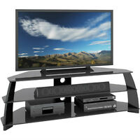 """CorLiving TV Stand for TV's Up To 65"""" - Black. New in Box"""