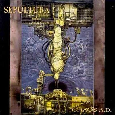Sepultura - Chaos Ad [New CD]