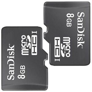 2-Pack-SanDisk-Class4-8GB-MicroSD-Micro-SDHC-TF-Flash-Memory-Card-For-Cell-Phone