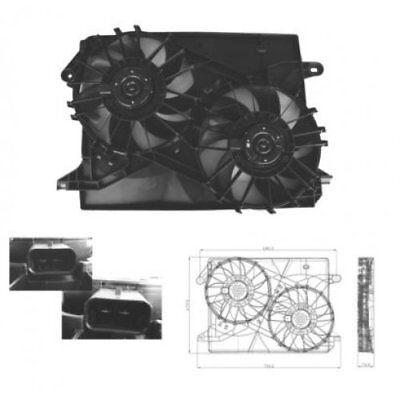 Fan Engine Cooling Radiator Fan Blower Motor Chrysler