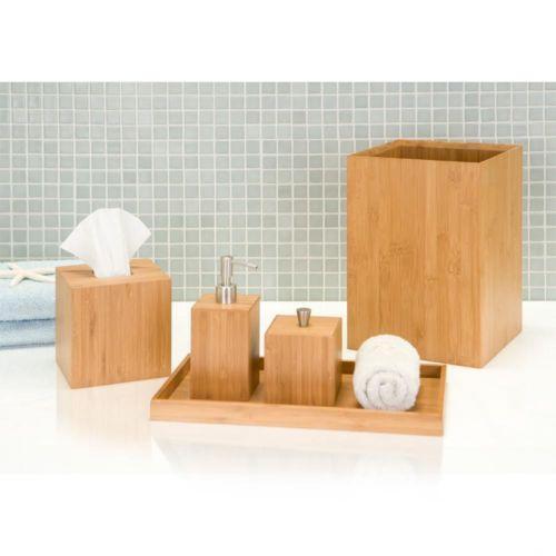 Bamboo Bath Accessories Ebay