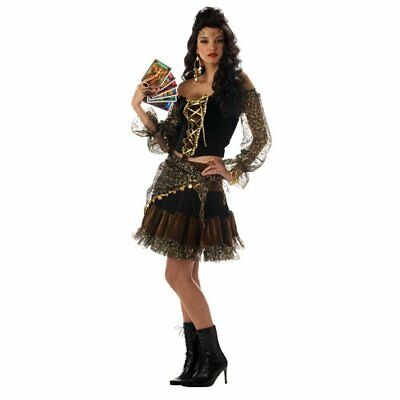 Sexy Gypsy Madame Destiny  Adult Halloween Costume - Gypsy Costume Halloween