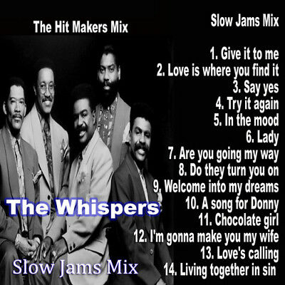 Best Of The Whispers Slow Jams DJ Compilation Mix (The Best Slow Jams)