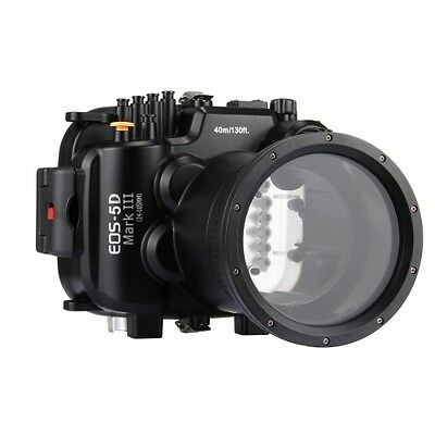 Canon EOS-5D Mark III Camera 40m Waterproof Underwater Housing For Depth Diving