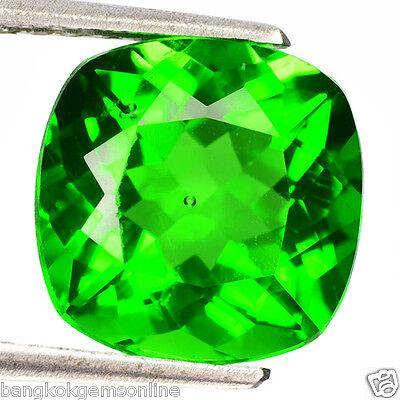 3.73Cts MIND BLOWING Gem - Hi-End Sparkling Mystrey Tektite Green MOLDAVITE BX85