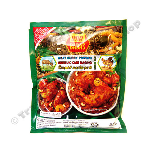BABAS MEAT CURRY POWDER - 250G