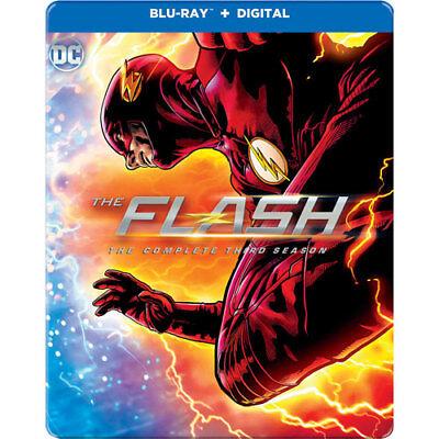 The Flash Complete Third Season 3 Best Buy Steelbook Blu Ray New