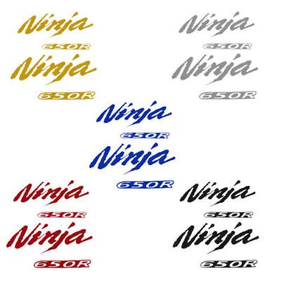 Motorcycle Ninja 2D Stickers Badge Decals Emblem Sticker for Kawasaki Ninja650R