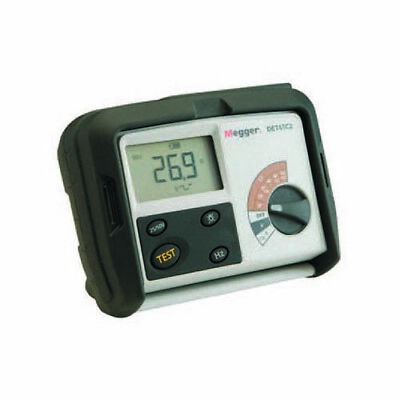 Megger Det4tcr2 1000-346 4-terminal Digital Ground Tester Batt.