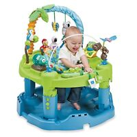 LIKE NEW Evenflow Triple Fun Exersaucer - Animal Planet