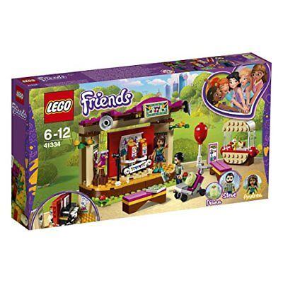 LEGO Friends 41334 - Andreas Bühne im Park, Spielzeug für Mädchen und Junge (Mädchen Spielzeug Lego)