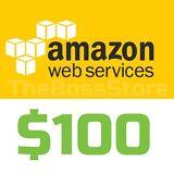 Amazon AWS Web Services $100 Voucher Credit Code Non-EDU EC2 SQS RDS
