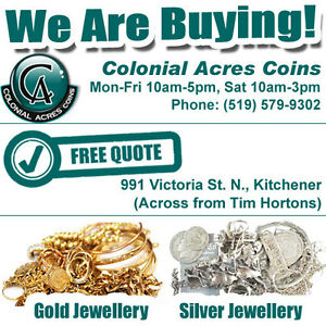 Colonial Acres Jewellery - We Are Buying & Selling Gold & Silver Kitchener / Waterloo Kitchener Area image 1